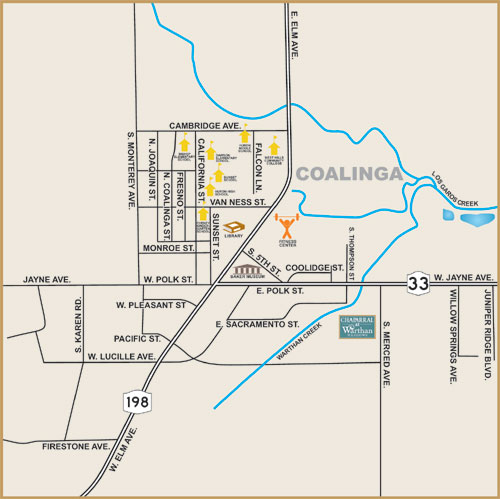 Clyde Miles Construction new homes in Coalinga Fresno County
